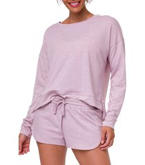 women's onzie high/low sweatshirt