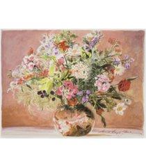 "david lloyd glover summer bouquet blush canvas art - 37"" x 49"""