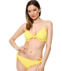 bikini amarilla felisa adele