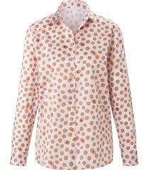 blouse van 100% katoen van eterna lichtroze
