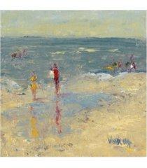 "marilyn wendling impasto beach day i canvas art - 36.5"" x 48"""