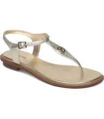 mallory thong shoes summer shoes flat sandals silver michael kors