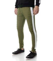 pantalón verde no end babucha 32306
