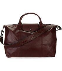 le pliage leather foldable travel bag