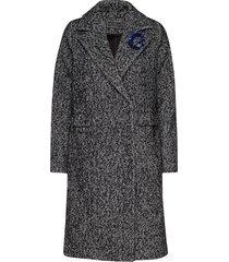 rocio coat yllerock rock grå guess jeans