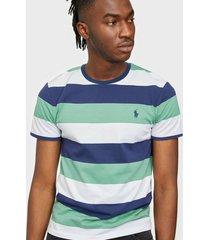 polo ralph lauren polo short sleeve t-shirt t-shirts & linnen green