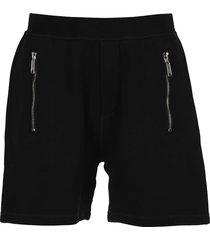 dsquared2 d squared zip detail bermuda shorts