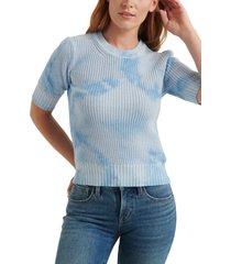 women's lucky brand tie dye crewneck sweater