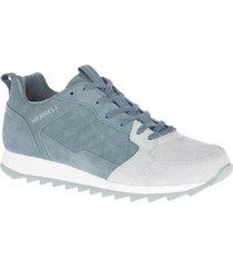 zapatilla alpine sneaker suede azul merrell