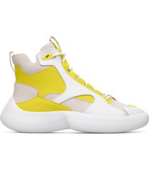 camper lab abs, sneaker donna, beige/giallo/bianco, misura 41 (eu), k400417-002