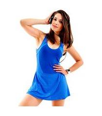 vestido mama latina macaquinho azul