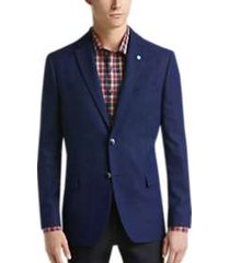 ben sherman blue tic extreme slim fit sport coats