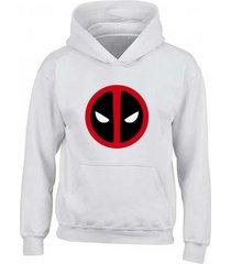 buzo estampado deadpool con capota saco hoodies