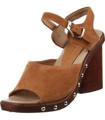 sandalia marrón maggio rossetto oriana