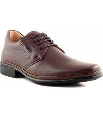 zapato chocolate briganti hombre trento