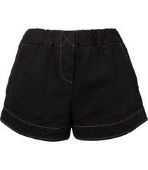 simon miller denim shorts