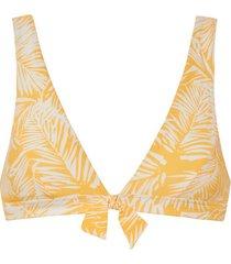 bikini beachlife palm glow driehoekig badpak topje zonder beugel
