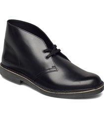 desert boot 2 desert boots snörskor svart clarks