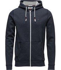 tjm original zip hoo hoodie trui grijs tommy jeans