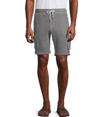 cotton-blend cargo shorts