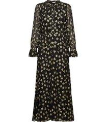 maxime dress maxi dress galajurk zwart fabienne chapot