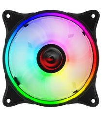 cooler fan gabinete pcyes ph2rgb120 huracan h2 120mm preto rgb