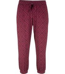 pantalone 3/4 fantasia (viola) - bpc bonprix collection