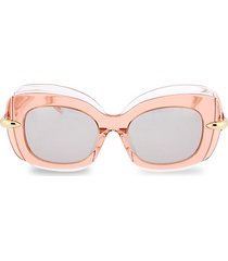novelty 50mm square sunglasses