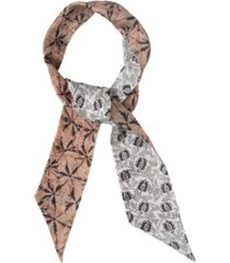 rebecca minkoff women's shibori tie dye reversible skinny scarf