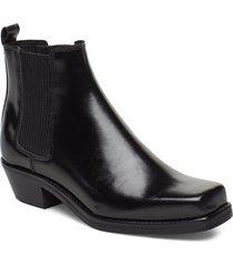 alysia boot 9648 shoes boots ankle boots ankle boots with heel svart samsøe samsøe