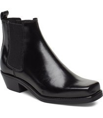 alysia boot 9648 shoes boots ankle boots ankle boots with heel svart samsøe samsøe