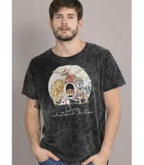 camiseta masculina marmorizada queen a day at the races