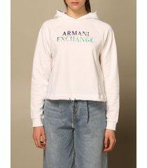armani collezioni armani exchange sweatshirt armani exchange sweatshirt with logo