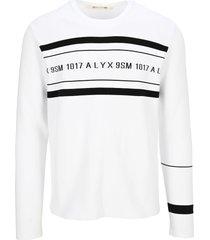 1017 alyx 9sm alyx band logo sweater