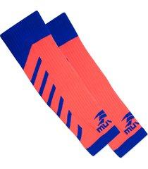 polaina de compressão muvin arrow pnt-100 laranja/azul