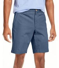 club room men's regular-fit 4-way stretch shorts, created for macy's