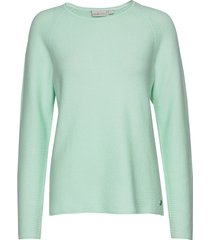 w race knitted crew neck sweat-shirt trui groen sail racing