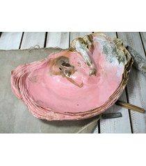 patera - organic form - muszla /róż