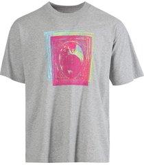 classic triple print t-shirt