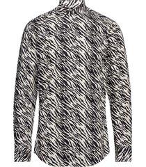 farrell 4 overhemd casual zwart tiger of sweden