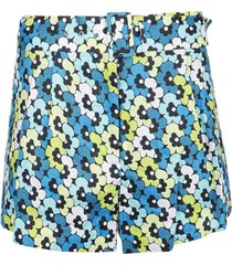 michael kors high waist shorts w belt