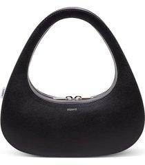 coperni baguette swipe leather handbag