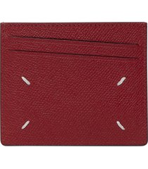 pompeian red card holder