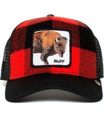 gorra rojo goorin bros bufalo