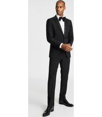 reiss poker - modern fit performance dinner jacket in black, mens, size 46