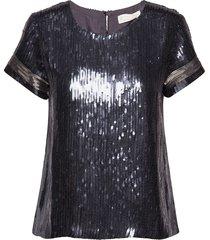 star angel top t-shirts & tops short-sleeved zwart odd molly