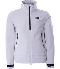 ac36 presented by prada x north sails hauraki jacket | grey violet | 450127-906