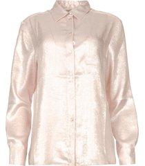 glimmende blouse lia  roze