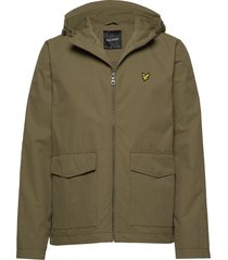 double pocket jacket tunn jacka grön lyle & scott