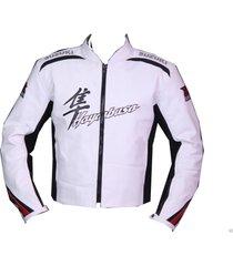 hayabusa suzuki motorbike leather motorcycle biker racing jacket sport ce all si